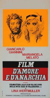 FILM D'AMORE E D'ANARCHIA