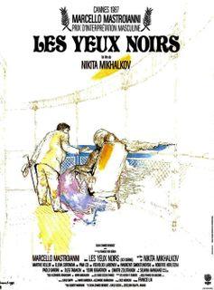 LES YEUX NOIRS