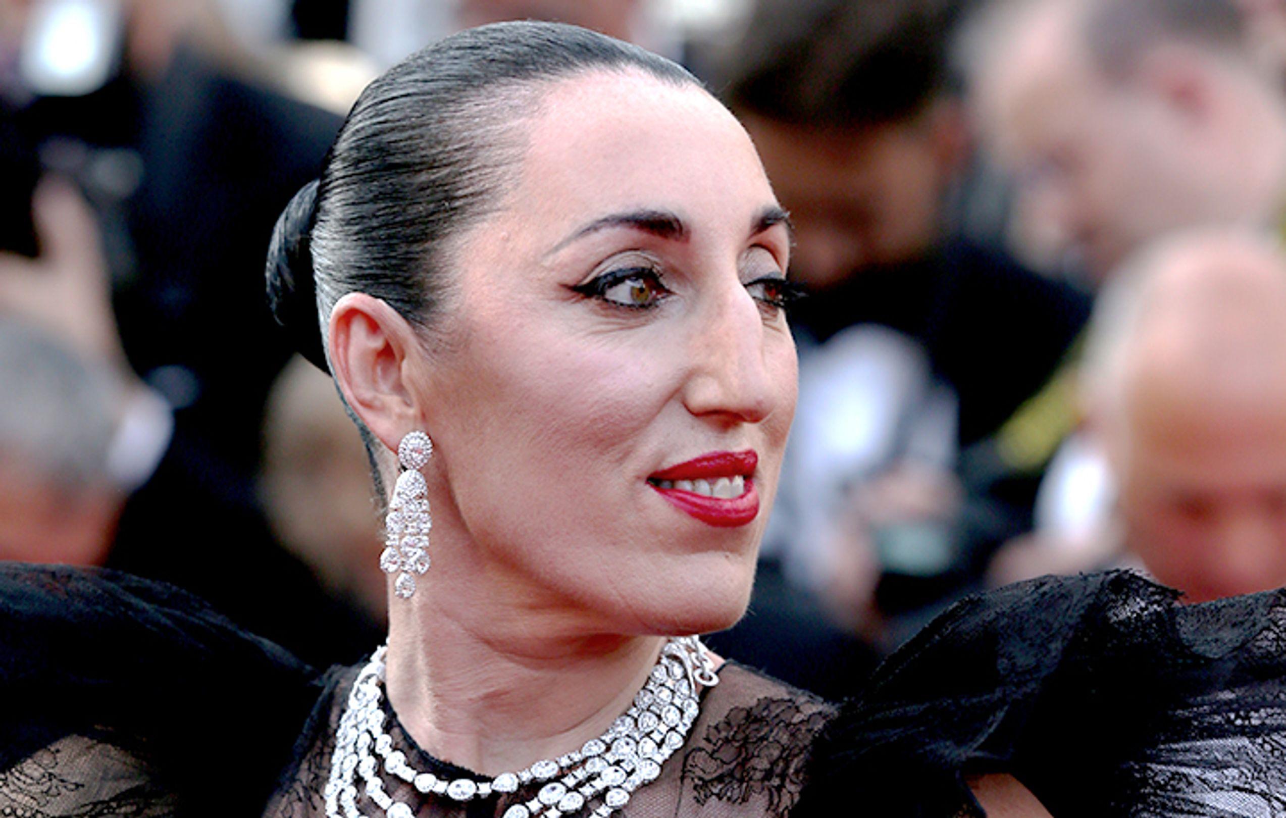 """ENCUENTRO - Rossy de Palma: """"Prefiero concentrarme en la belleza de las cosas"""" - Festival de Cannes"""