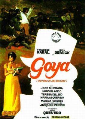 GOYA - L'HISTOIRE D'UNE SOLITUDE