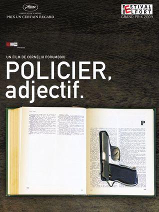 POLICIER, ADJECTIF