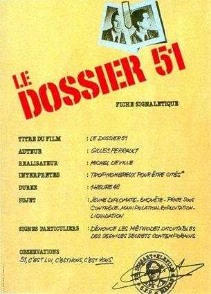 LE DOSSIER 51