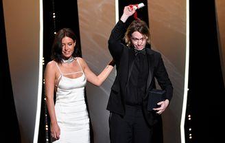 Adèle Exarchopoulos et Caleb Landry Jones - Nitram, Prix d'interprétation masculine