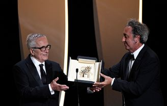 Paolo Sorrentino and Marco Bellocchio - Honorary Palme d'or