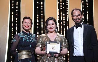 Mounia Meddour, Sameh Alaa et Tang Yi - Tian Xia Wu Ya (Tous les corbeaux du monde), Palme d'or court métrage