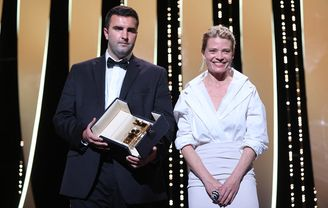Mélanie Thierry and Frank Graziano - Murina, Caméra d'or