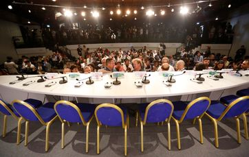 salle de conférence de presse