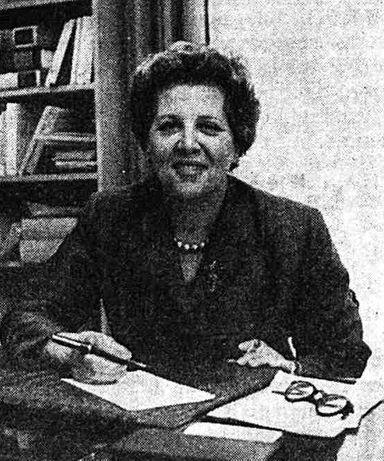 Madame Georges BIDAULT