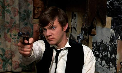 Malcolm McDowell in If… by Lindsay Anderson