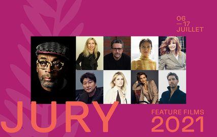 El jurado del 74.º Festival de Cannes