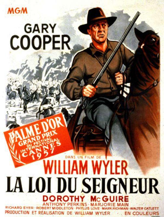 Cartel de La gran prueba de William Wyler