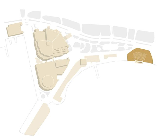 Map of the Festival - Macé Beach