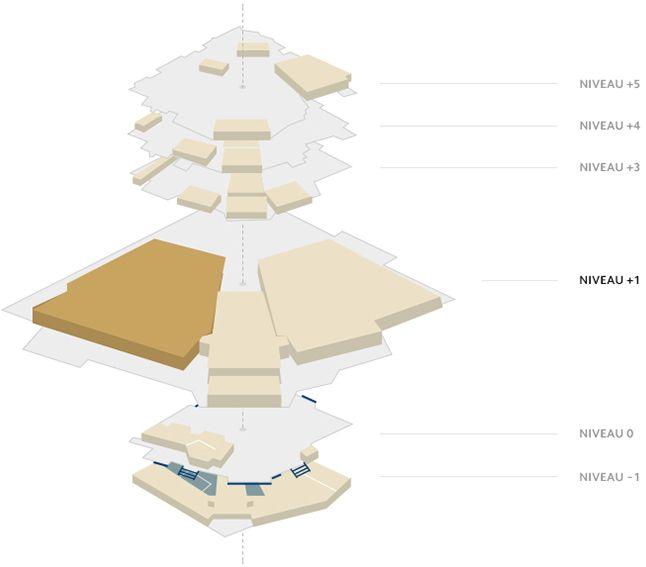 Plan du Palais - Grand Théâtre Lumière