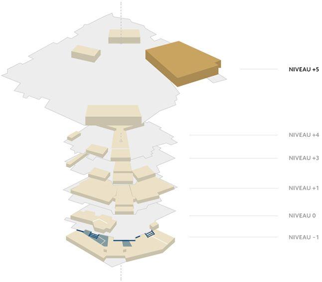 Plan du Palais - Salle Buñuel