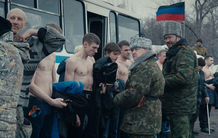 Film still of Donbass