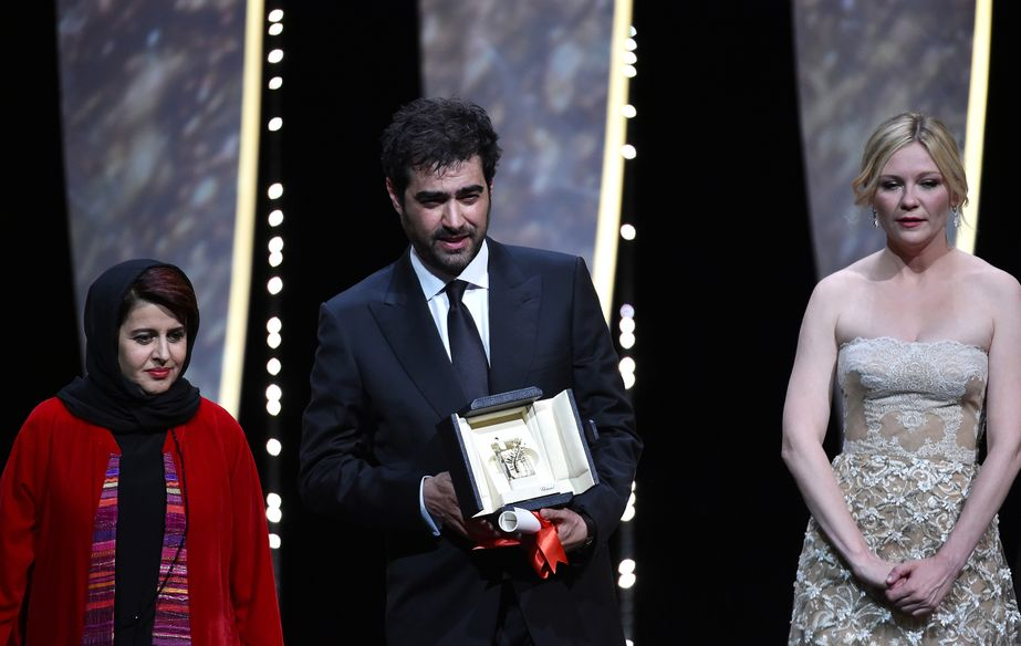 Shahab Hosseini, Award for Best Actor - Forushande (The Salesman) - Katayoon Shahabi et Kirsten Dunst