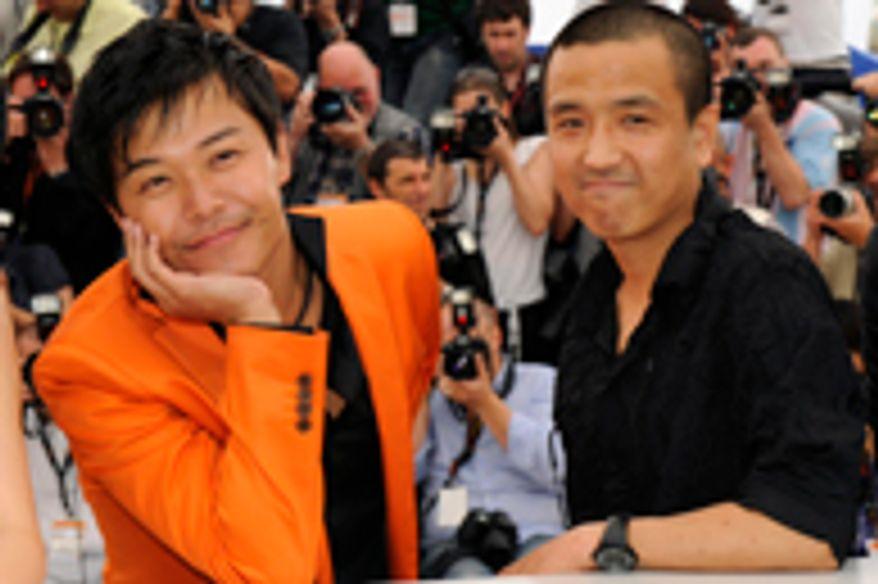 Lou Ye et l'acteur Chen Sicheng