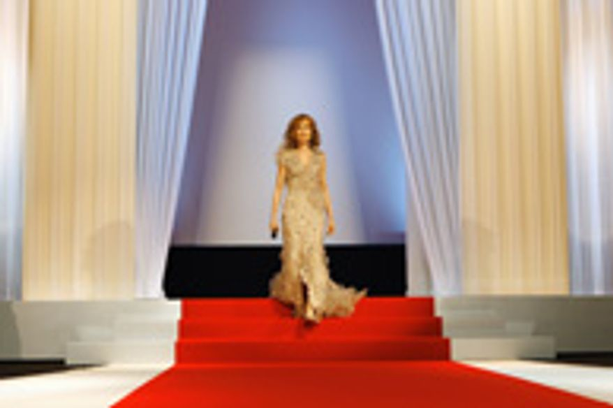 Isabelle Huppert at the opening ceremony