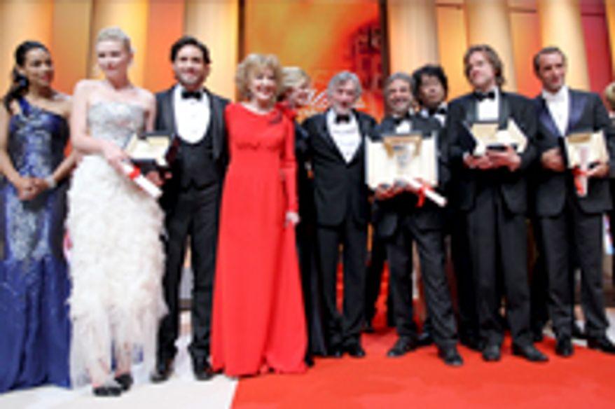 Lauréats 2011 © AFP
