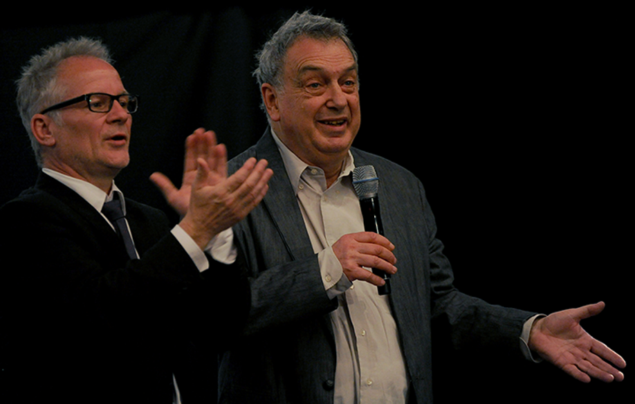 Thierry Frémaux y Stephen Frears © FDC / GT