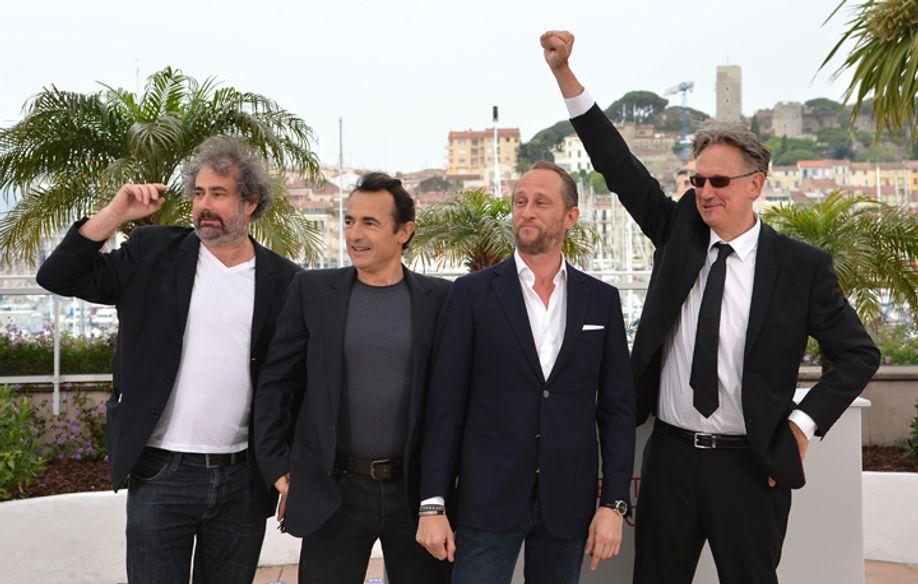 Film cast © AFP