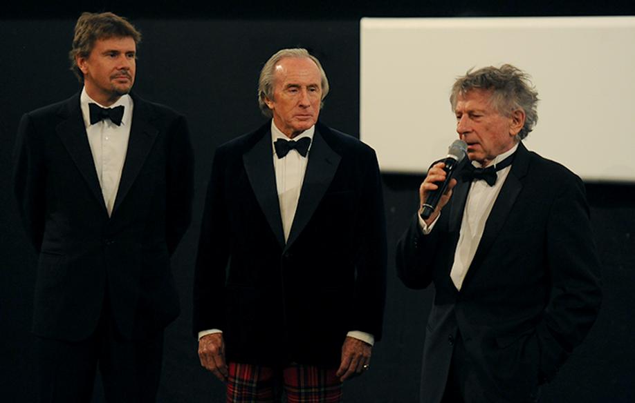 Jackie Stewart y Roman Polanski © FDC / GT