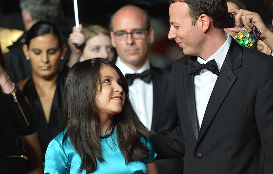 Amat Escalante y Linda González Hernández © AFP