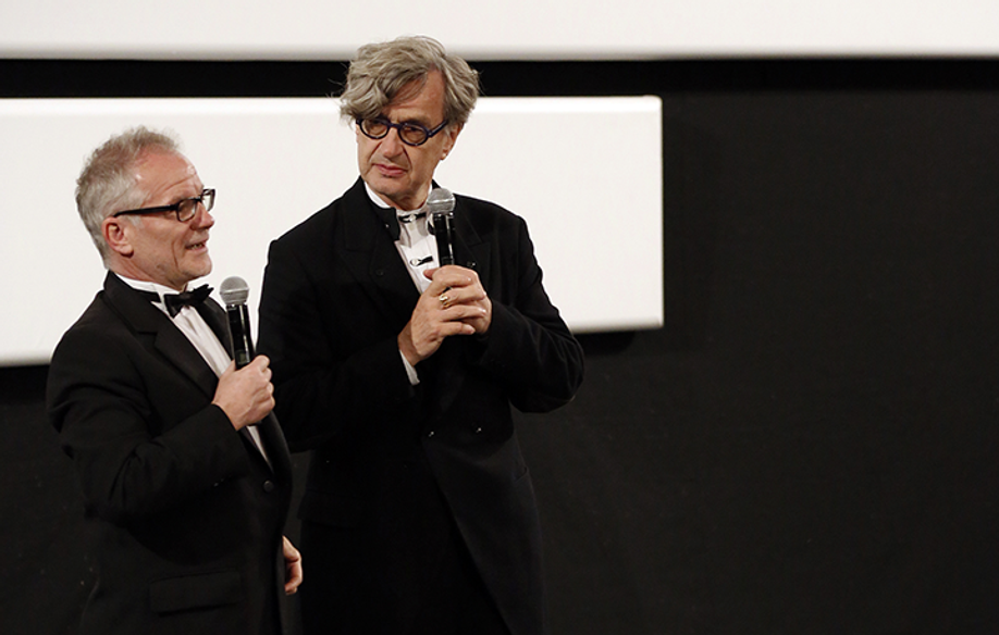 Thierry Frémaux and Wim Wenders © FDC / KV