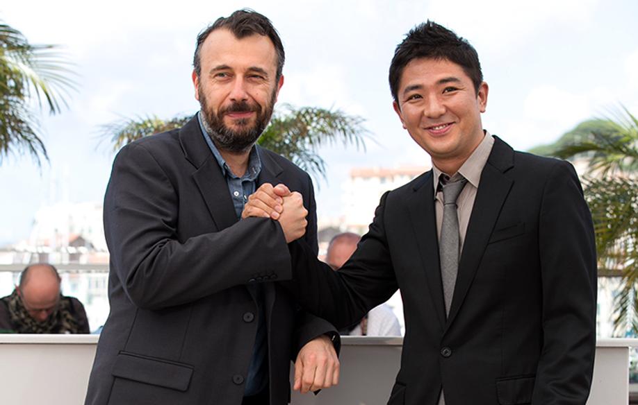 Fred Cavayé et Chang © FDC / GLD