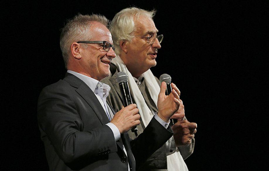 Thierry Frémaux & Bertrand Tavernier © FDC / M. Petit