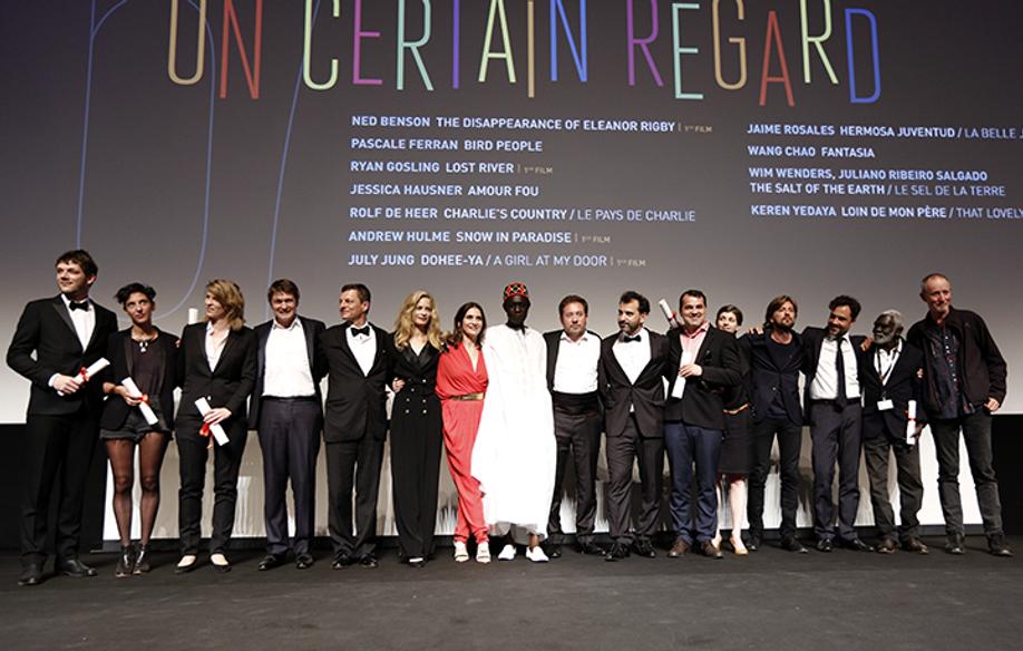 Les lauréats et les membres du Jury Un Certain Regard © FDC / C. Duchene