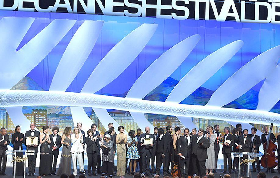 Jury et lauréats © AFP / AC. Poujoulat