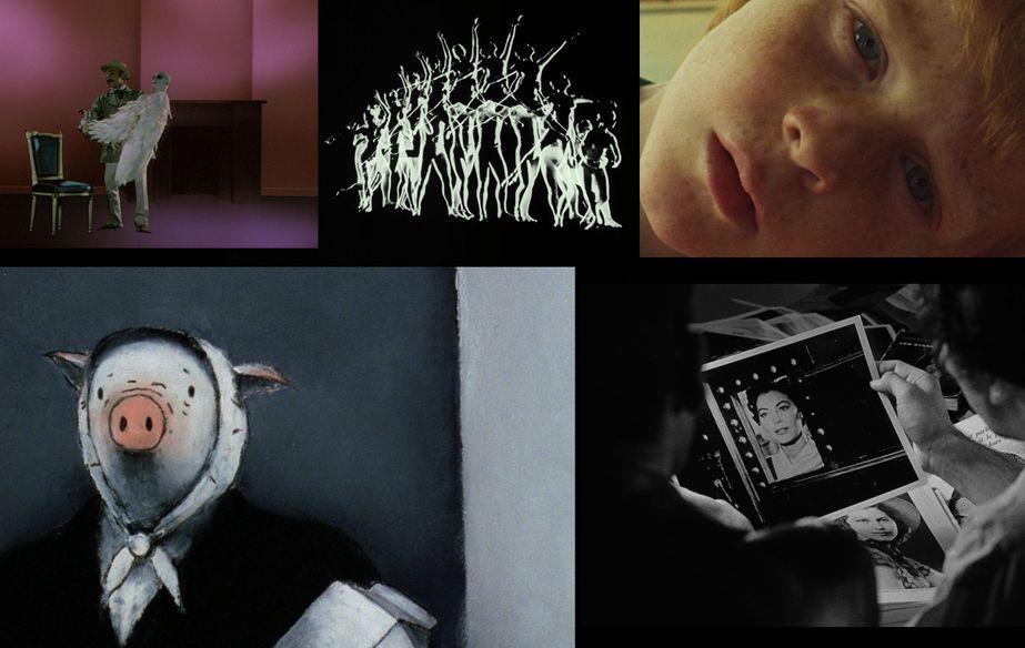 """Film stills of """"A short history of short films"""""""