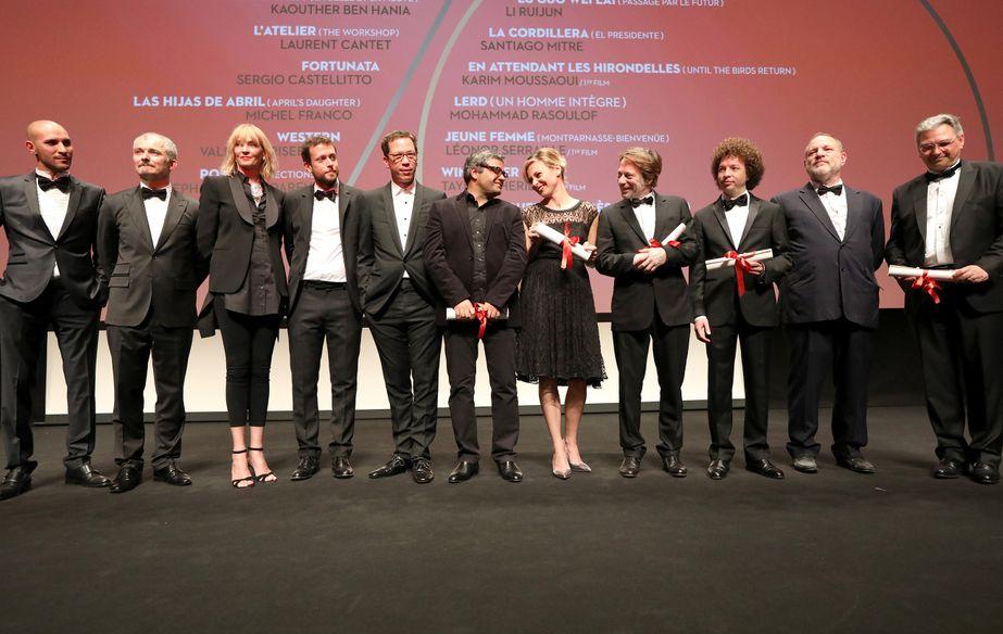 Le Jury et les lauréats Un Certain Regard 2017