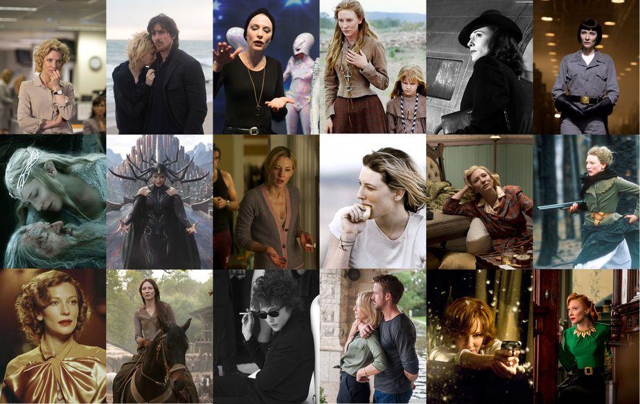 Cate Blanchett, filmographie illustrée