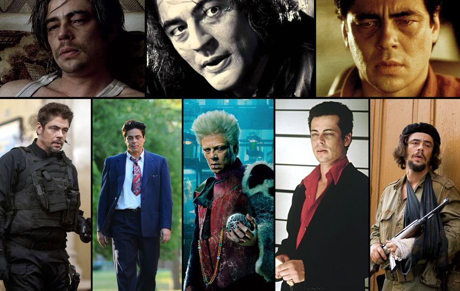 Benicio Del Toro, filmographie illustrée