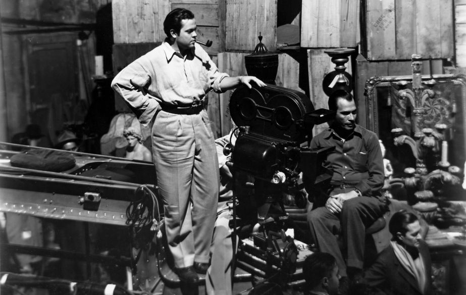 Film still of The Eyes Of Orson Welles