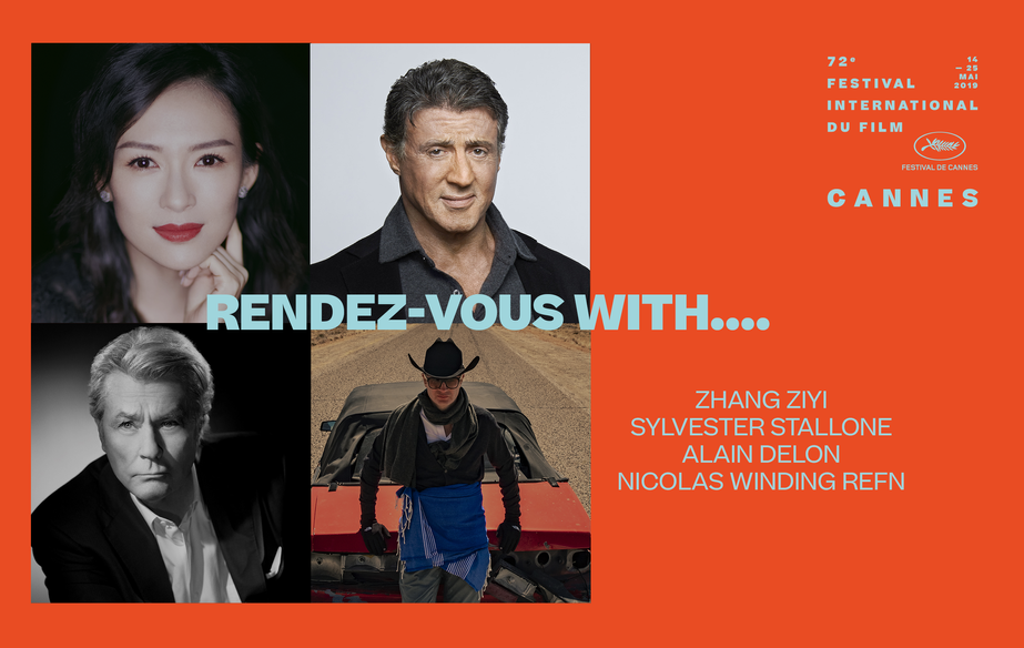 Rendez vous with  Zhang Ziyi, Sylvester Stallone, Alain Delon and Nicolas Winding Refn