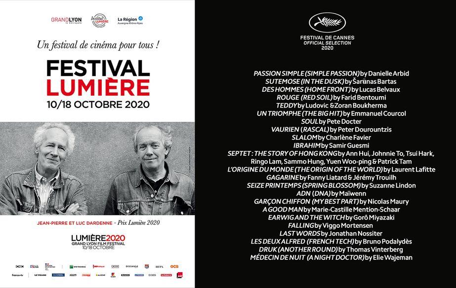 Cannes 2020 en el Festival Lumière de Lyon