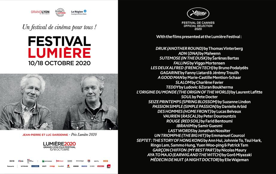 Cannes 2020 at Lyon's Lumière Film Festival