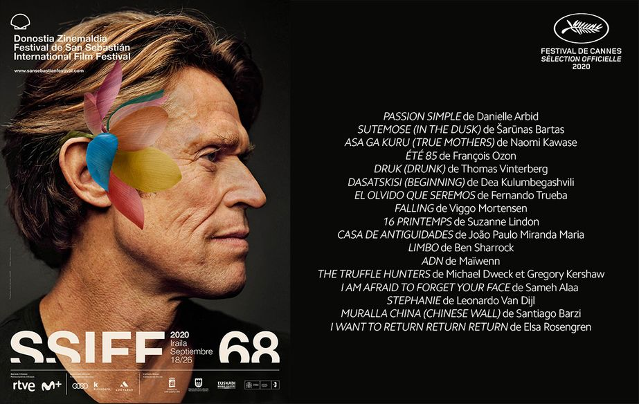戛纳2020登陆圣塞巴斯蒂安国际电影节