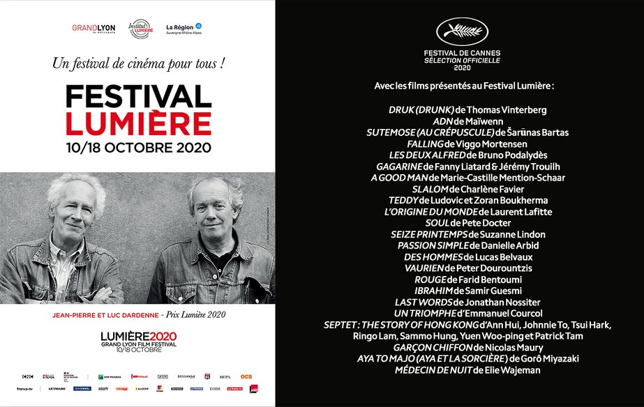 Cannes 2020 au Festival Lumière de Lyon