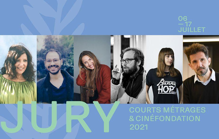 Jury des courts métrages et de la Cinéfondation 2021