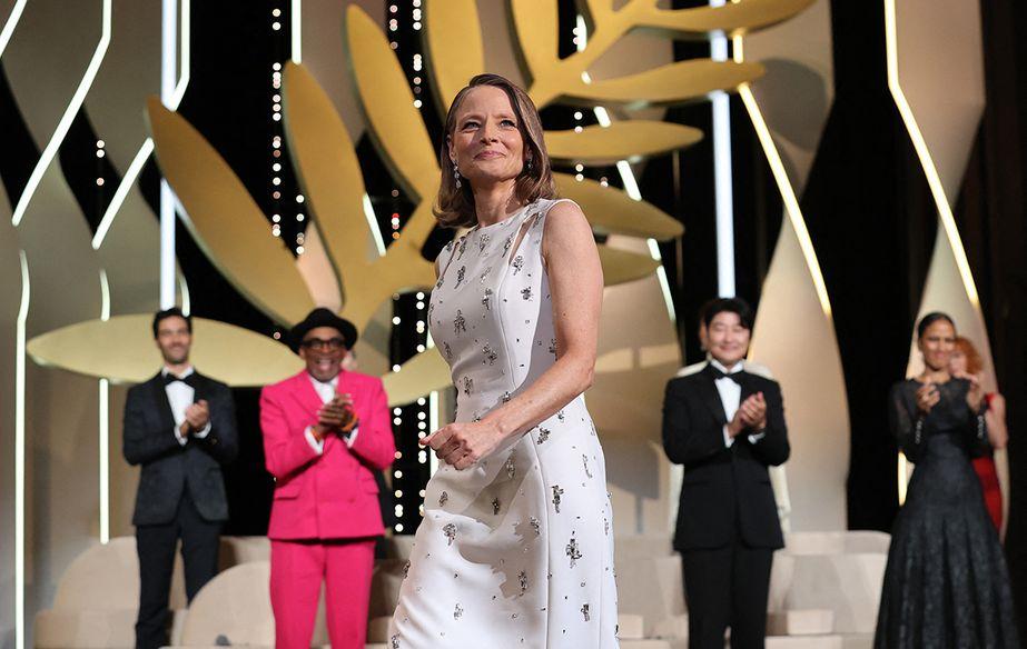Jodie Foster - Palme d'or de honor - Ceremonia de apertura