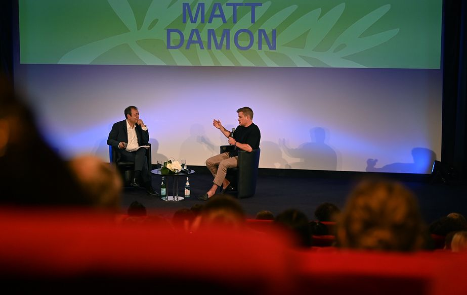Masterclass - Matt Damon