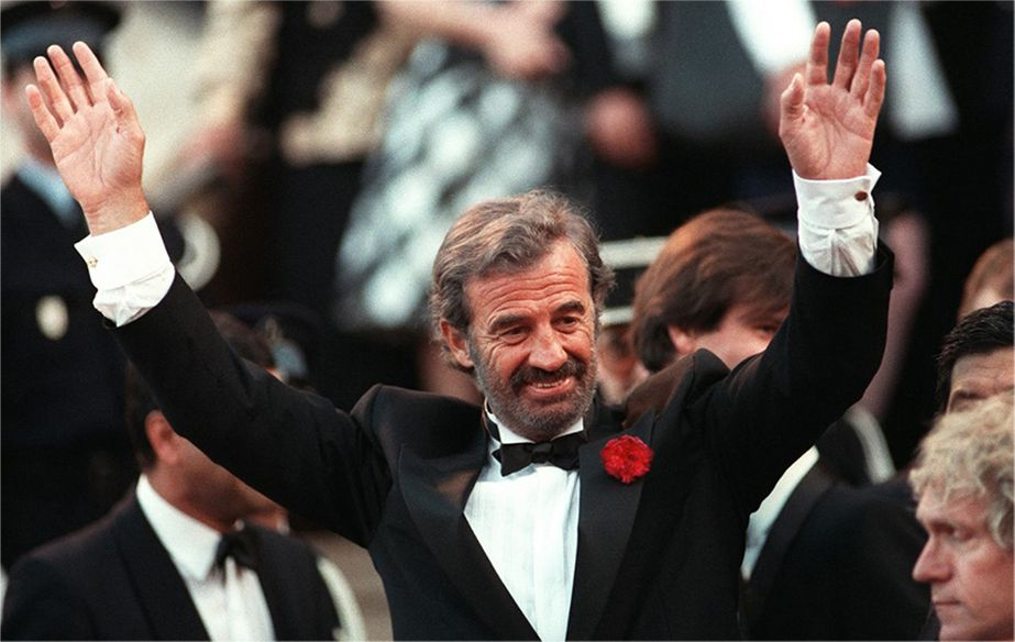 Jean-Paul Belmondo at the Festival de Cannes in 1988